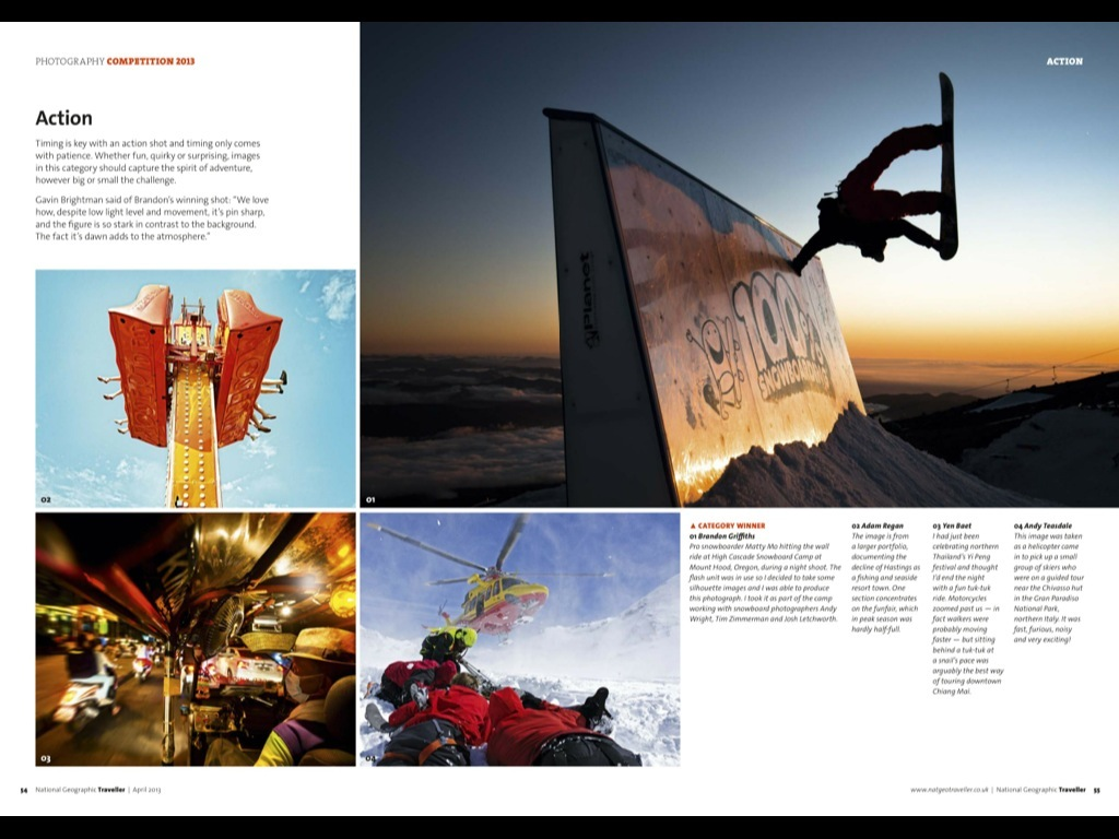 National Geographic Traveller Double Page Spread